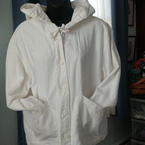 Jjill hemp jacket